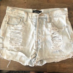 MINKPINK Shorts - Minkpink high waisted shorts